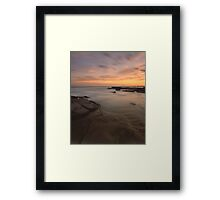 """The Gentle Tide"" ∞ Caloundra, QLD - Australia Framed Print"