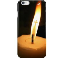Flame of Hope (detail) iPhone Case/Skin