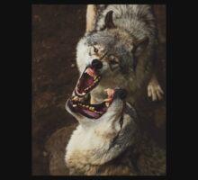 """Smiles, everyone, smiles!"" - Timber Wolves Kids Tee"