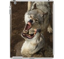 """Smiles, everyone, smiles!"" - Timber Wolves iPad Case/Skin"