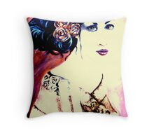 Never let me go (manipulated in Picasa) Throw Pillow