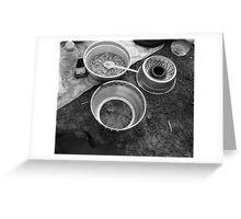 Camping - Newquay Greeting Card