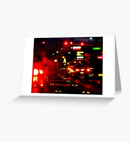 Lonely Glow Greeting Card