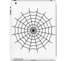 Spider Web - Black iPad Case/Skin