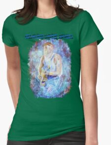 Seasick Blues Womens Fitted T-Shirt