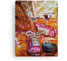 It's the weekend 6 Canvas Print