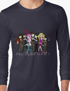 Design Season 3 Characters Long Sleeve T-Shirt