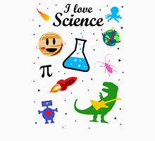 I Love Science (black version) T-Shirt