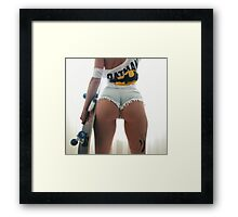 Batman Has Back Framed Print