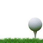 golf ball by hinnamsaisuy