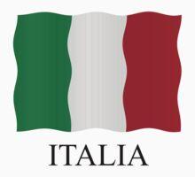 Italia flag Kids Clothes