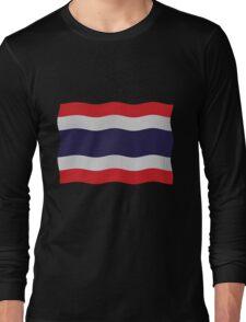 Thailand flag Long Sleeve T-Shirt