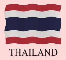Thailand flag by stuwdamdorp