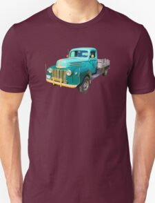 Old Flat Bed Ford Work Truck Unisex T-Shirt