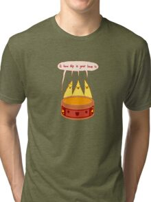 How dip is your love? Tri-blend T-Shirt
