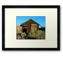 In Fact Alone Framed Print