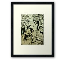 Pinocchio's Murder  ( Nursery Cryme Series )  Framed Print