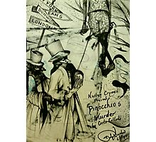 Pinocchio's Murder  ( Nursery Cryme Series )  Photographic Print