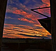 Silo Sunset - hdr by bazcelt
