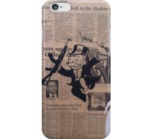 Holding the Monopoly... iPhone Case/Skin