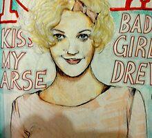 Bad Girl Drew Close Up by John Dicandia  ( JinnDoW )