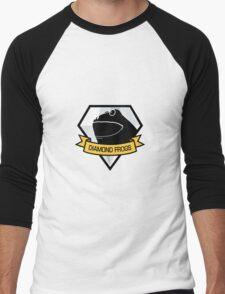 Diamond Frogs Logo Men's Baseball ¾ T-Shirt