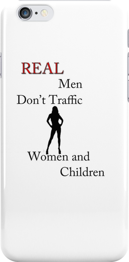Real Men Don't Traffic Women and Children by Anthony M. Davis