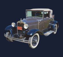 Model A Ford Roadster Convertible Antique Car Kids Clothes