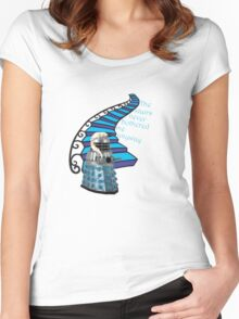 The Stairs Never Bothered Me Anyway Women's Fitted Scoop T-Shirt
