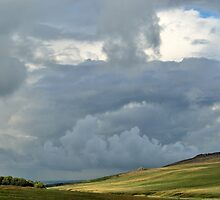 Storm Clouds over Belstone by jonshort58