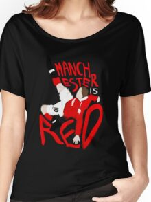 Manchester is Red Women's Relaxed Fit T-Shirt