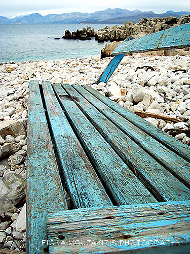 Lonely Blue by Fiona Mouzakitis