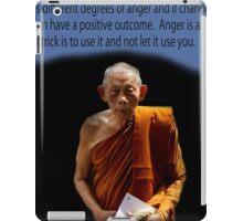 anger/monk iPad Case/Skin