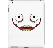 Excited (Creepy) iPad Case/Skin