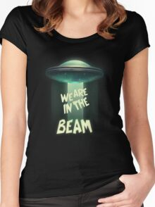 WE ARE IN THE BEAM! - Team Fortress 2 Women's Fitted Scoop T-Shirt