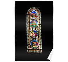 Stained Glass #2 Poster