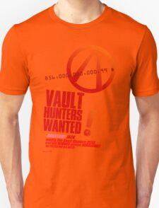 Borderlands 2 Vault Hunters Wanted! Unisex T-Shirt