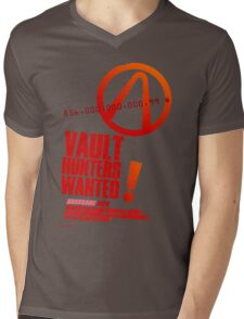 Borderlands 2 Vault Hunters Wanted! Mens V-Neck T-Shirt