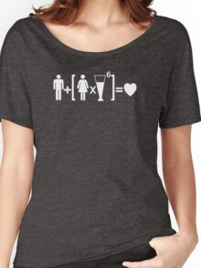 Drinking and Love Humor Women's Relaxed Fit T-Shirt