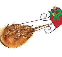 Horshoe Crab Sleigh by Tamara Clark