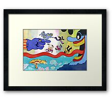 Pepperland Framed Print