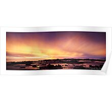 Rudel Sunset Poster
