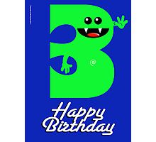 HAPPY BIRTHDAY 3 Photographic Print