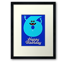 HAPPY BIRTHDAY 6 Framed Print