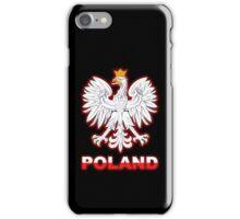 Poland - Polish Coat of Arms - White Eagle iPhone Case/Skin