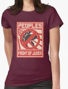 The People Front of Judea Womens Fitted T-Shirt