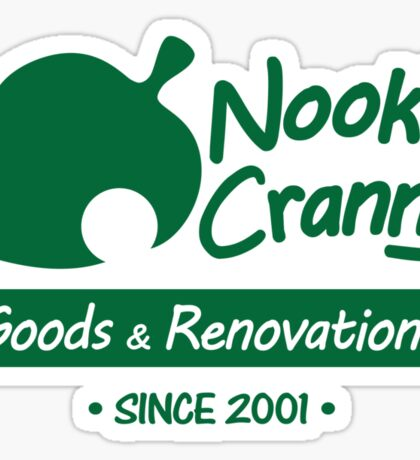 NOOK'S CRANNY Sticker