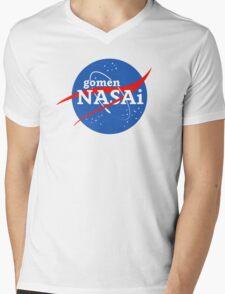 gomen NASAi Mens V-Neck T-Shirt