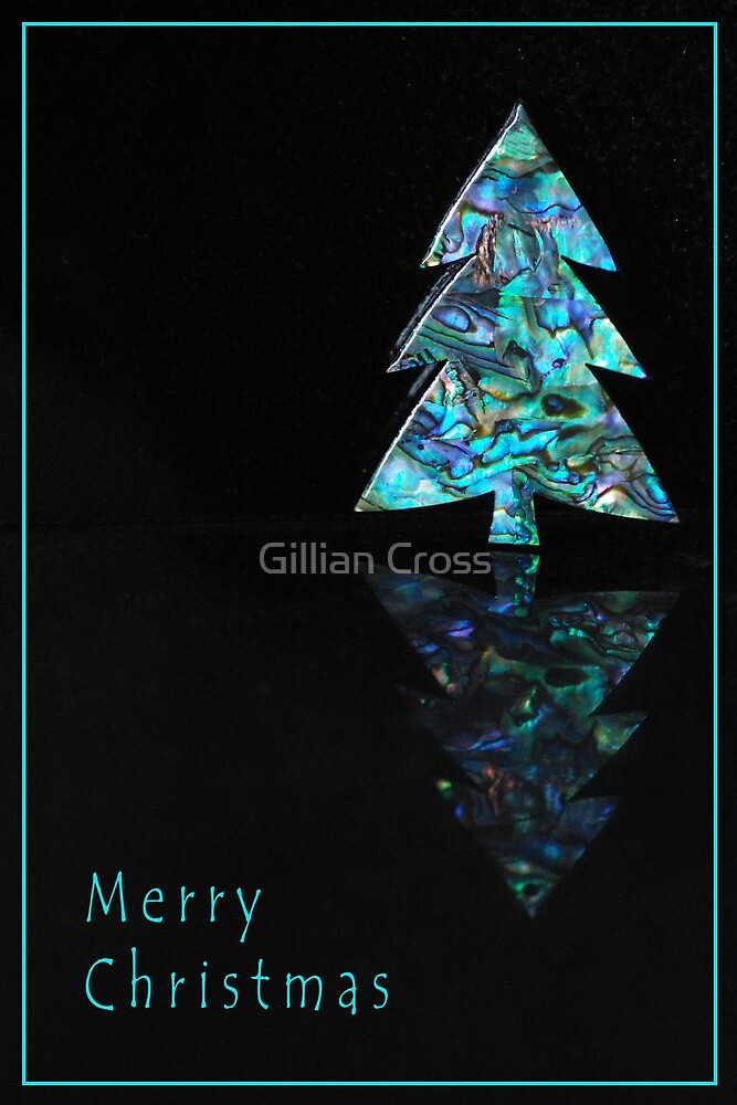 Merry Christmas - Tree by Gillian Cross