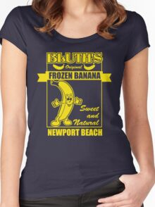 Bluth's Original Frozen Banana Women's Fitted Scoop T-Shirt